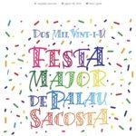 CARTELL FESTA MAJOR DE SANT MIQUEL DE PALAU-SACOSTA 2021